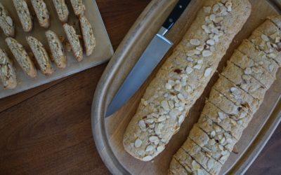 Tina's Wine Cookies – Almond Biscotti